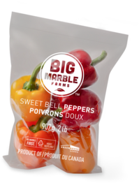 Peppers in bag